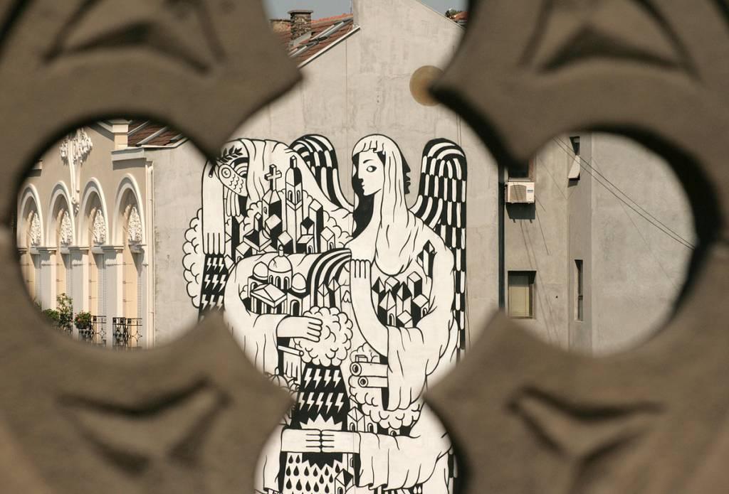 Street art perspektiva for Mural u vukovarskoj ulici
