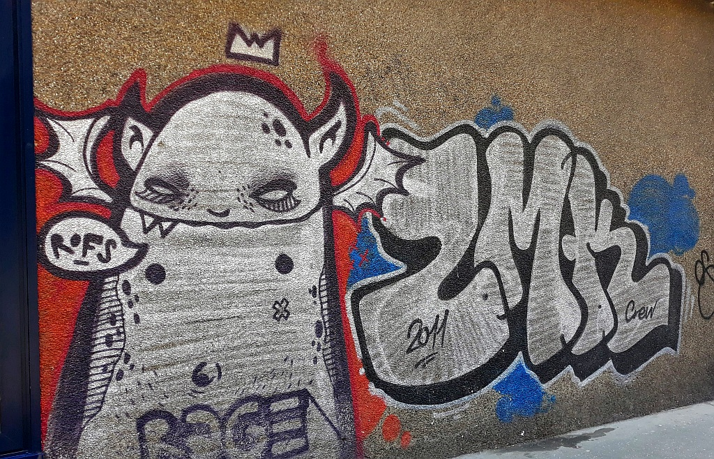 Grafit, Vračar: Rofs. Rage.