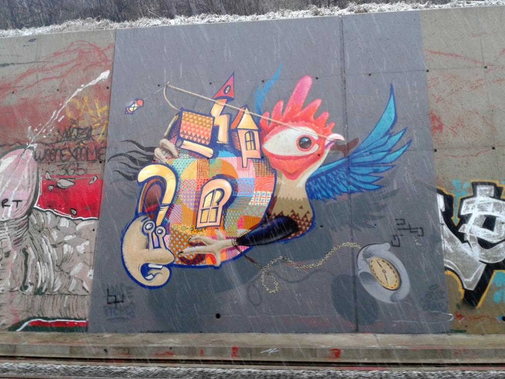 Grafit, Sajam: Selidba. Artez.