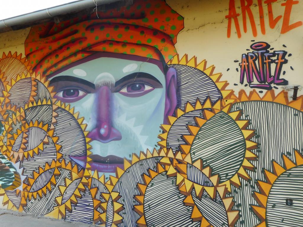 Grafit, Omoljica: Polje. grafit graffiti street art beograd belgrade stencil marker paste ulična umetnost sprej.