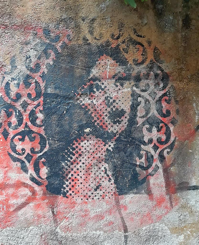 Stencil, Prenestino: girl.