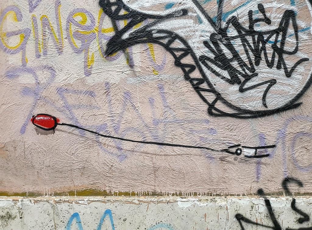 Grafit, Prenestino: Fly. Exit.Enter.K. Rome. Italy.
