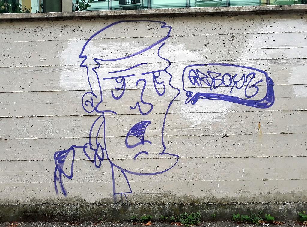 Grafit, Trevi: blah blah. Rome. Italy.