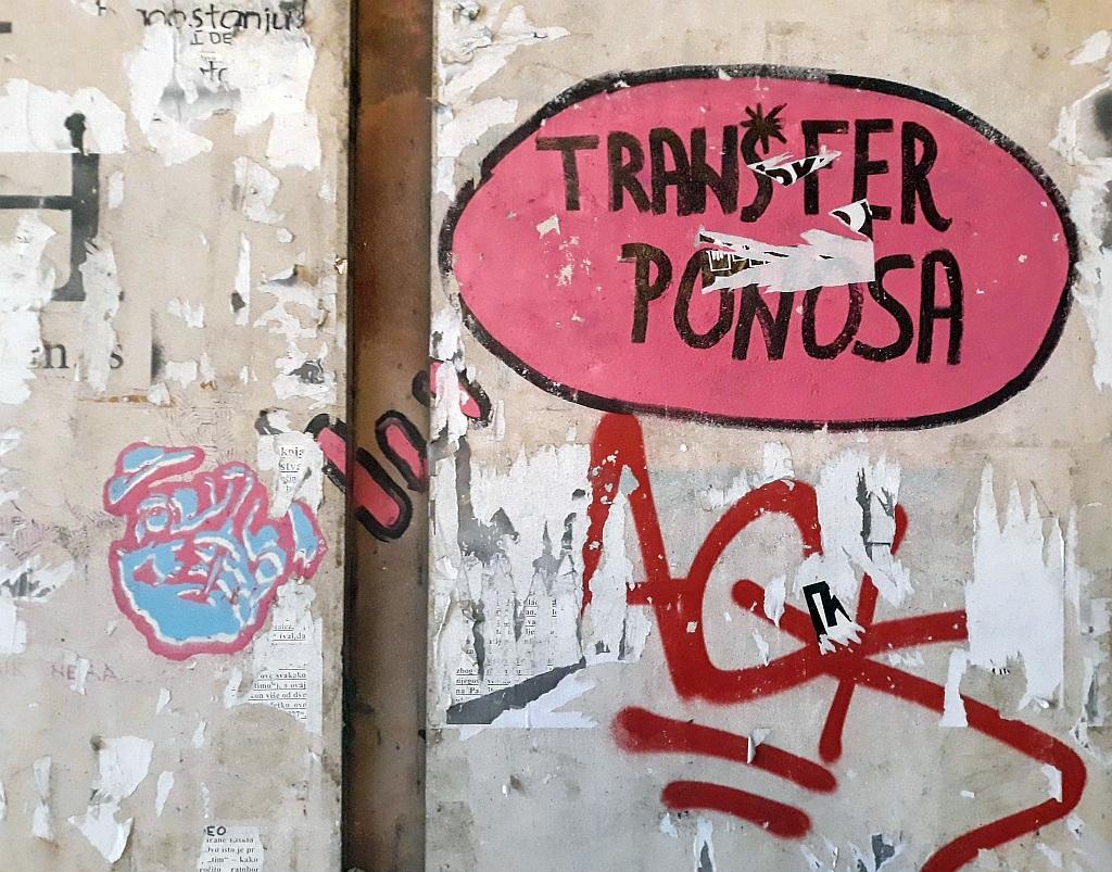 Marker, Stari Grad: Transfer ponosa. Inspektor Yoda Zgužvani. Beograd.
