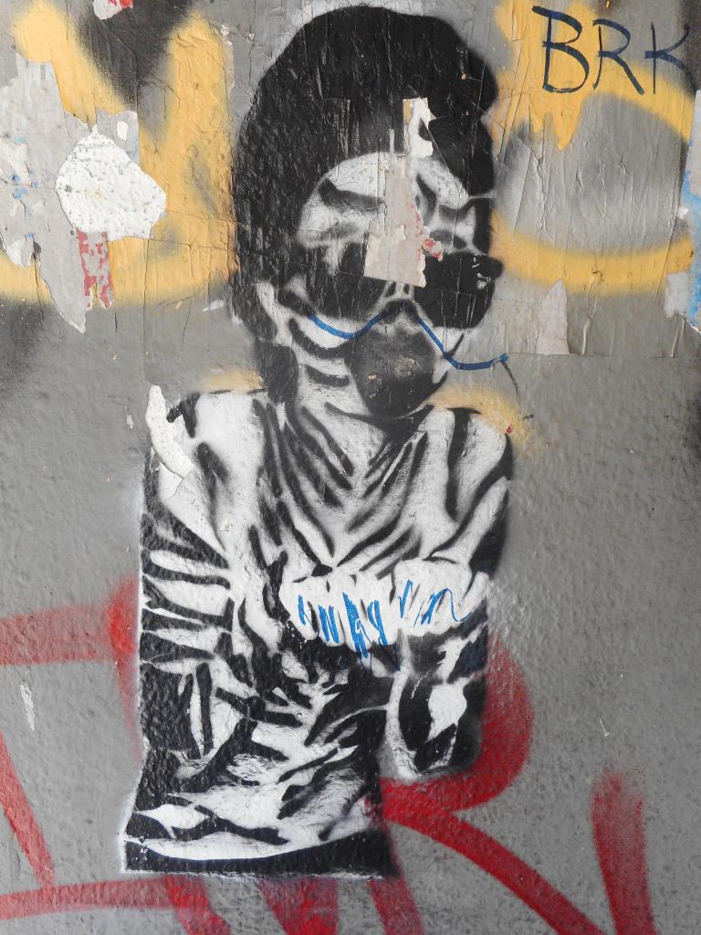 Paste-UP, Dorćol: Fakir. grafit graffiti street art beograd belgrade stencil marker paste ulična umetnost sprej.