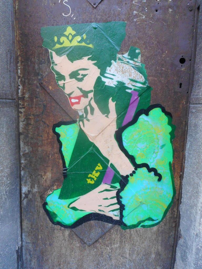 Stencil, Stari Grad: Miss Spray. TKV. grafit graffiti street art beograd belgrade stencil marker paste ulična umetnost sprej.
