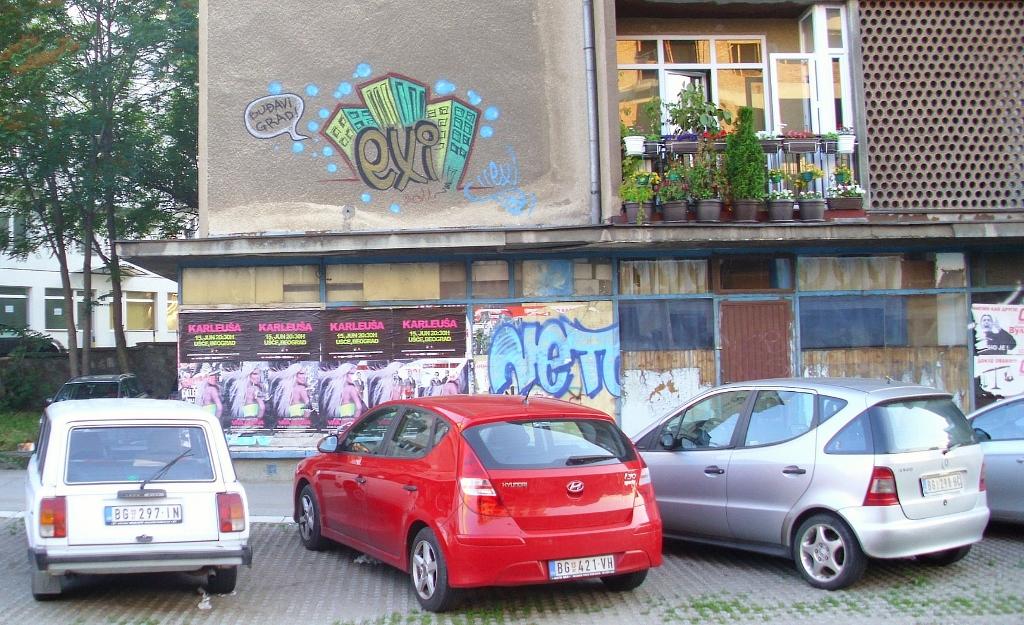Beograd, exi
