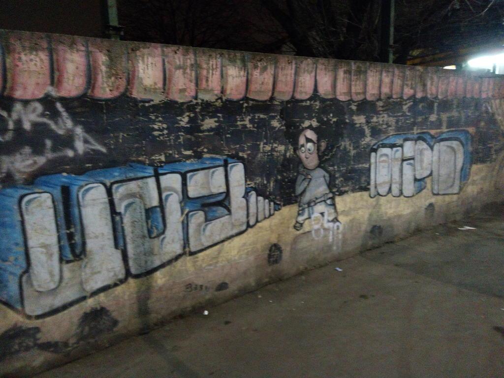 Grafit, Karaburma: Izgubljen u prostoru. grafit graffiti street art beograd belgrade stencil marker paste ulična umetnost sprej mural zid.