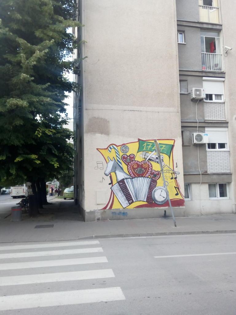 Grafit, Ruma: Vašar. grafit graffiti street art beograd belgrade stencil marker paste ulična umetnost sprej mural zid.