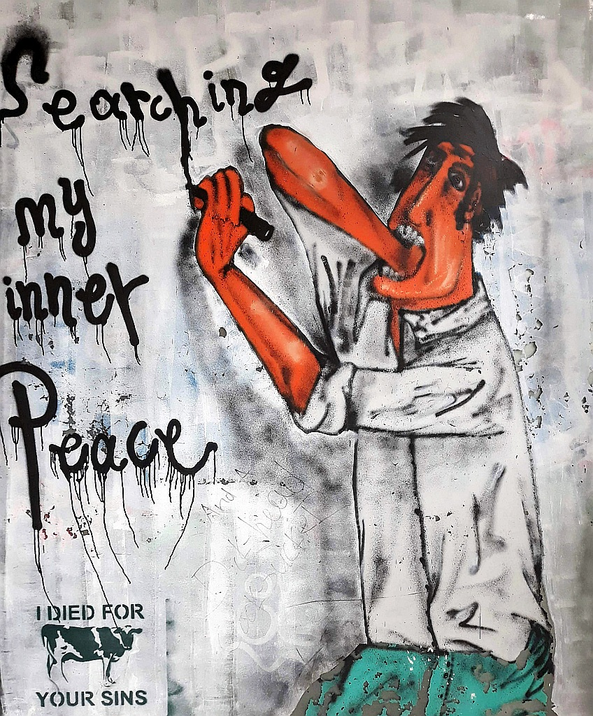 Grafit, Athens: Searching my inner peace. athens.