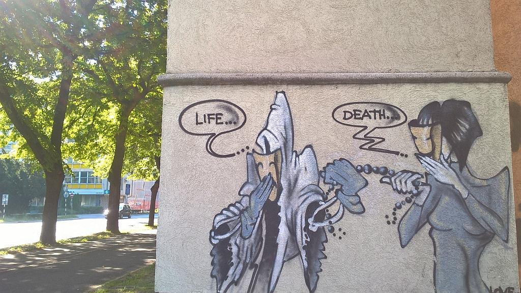Grafit, Subotica: Life / Death / Life. subotica.