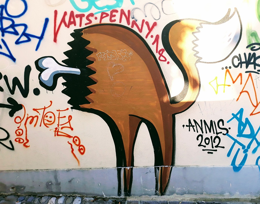Grafit, Ljubljana: Meat. Ljubljana. Slovenia.
