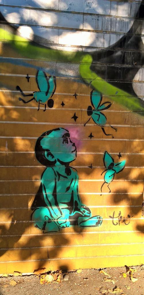 Stencil, Belgrade: Hope. TKV.
