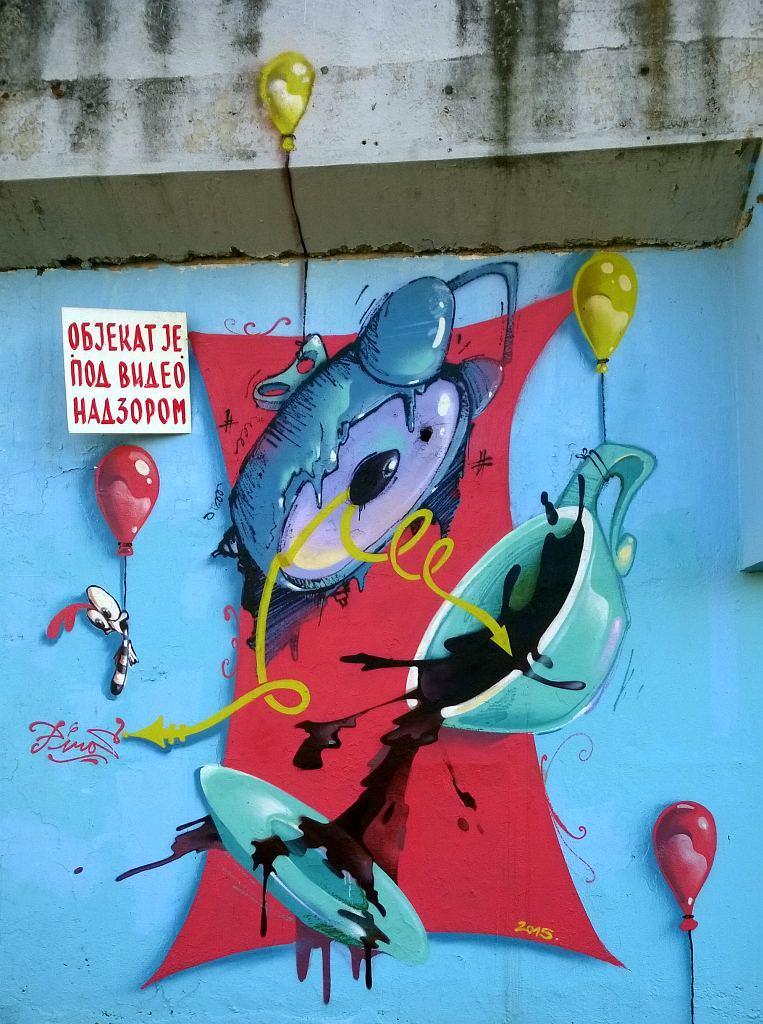 Grafit, Kruševac: The time is now. Piros. Kruševac.