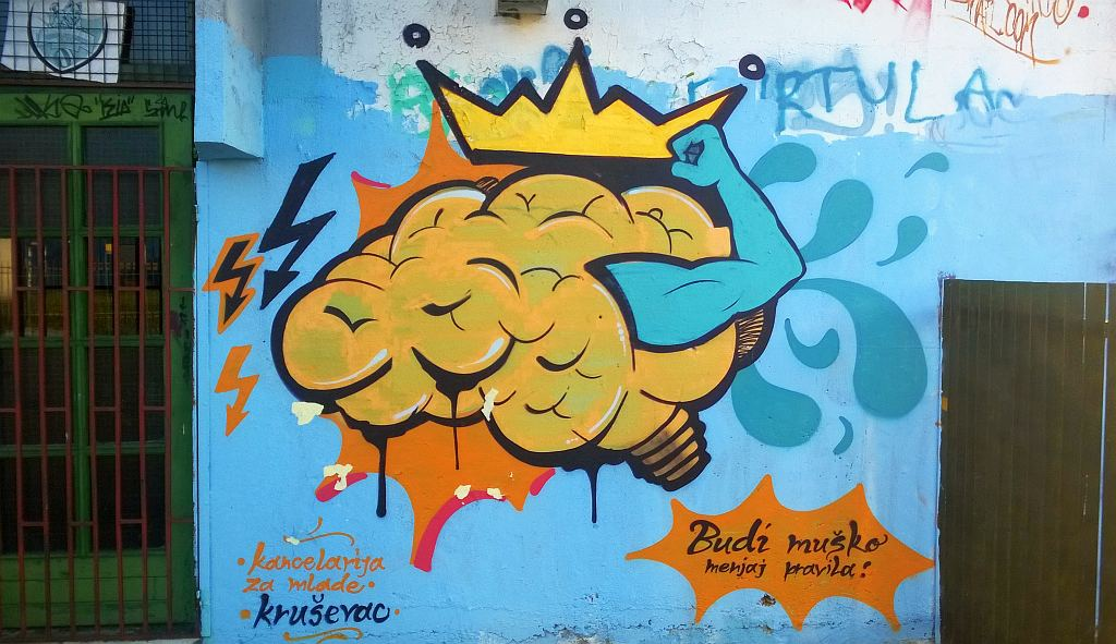 Grafit, Kruševac: Piros. Piros. Kruševac.