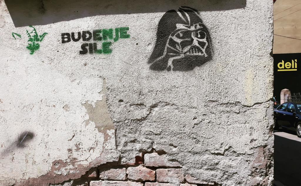 Stencil, Niš: Star wars. Stenil. Star wars. Niš.