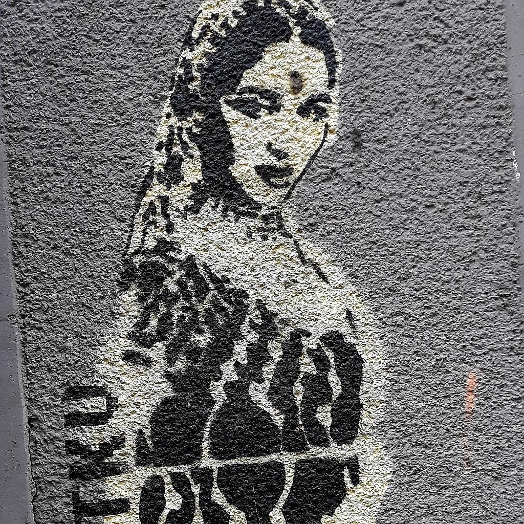Stencil, Vračar: Bollywood. TKV.